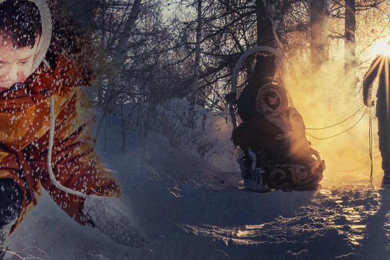 去疆冬书写孩子的童年(带娃旅行)